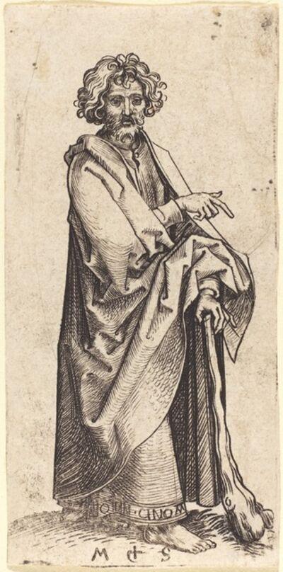 Martin Schongauer, 'Saint Judas Thaddaeus', ca. 1480