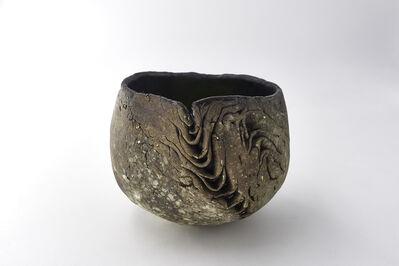 Yukiya Izumita 泉田之也, ''Sekisoh' Layers tea bowl', 2017