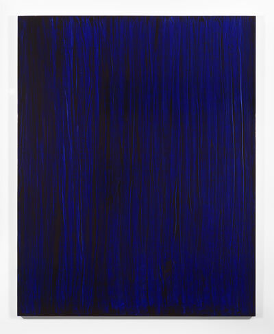 Jean-Luc Moulène, 'Monochrome - Echantillon Blue «à la française test»', 2013