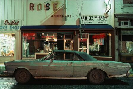 Langdon Clay, 'Rose Jeweler's Car, Ford Galaxie 500 XL (1966), Troy, NY', 1975