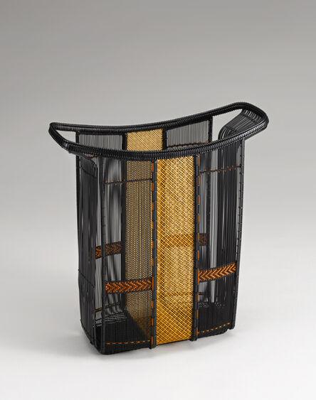 Tanaka Kyokusho, 'Sensuji-gumi Open Weave Flower Basket', 2008