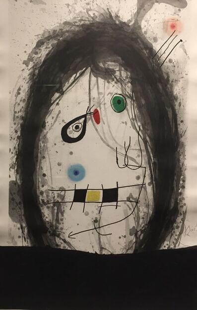 Joan Miró, 'L'Exile Noir ', 1969