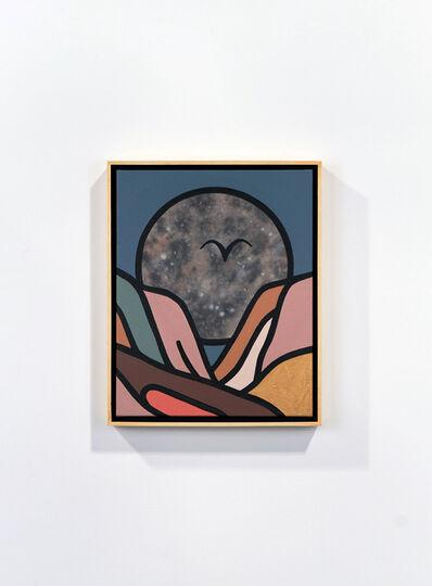 Tom Jean Webb, 'The desert's moon', 2021