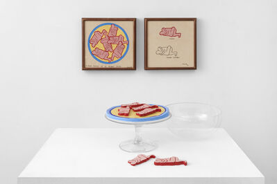 Judy Chicago, 'Six Erotic Cookies (in 10 parts)', 1967