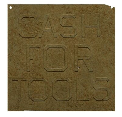 Ed Ruscha, 'Rusty Signs - Cash for Tools 1', 2014