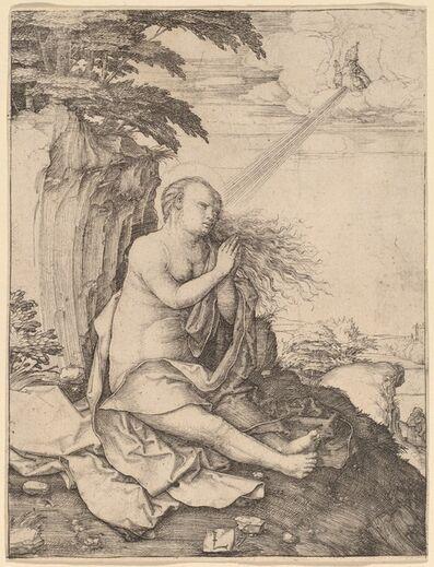 Lucas van Leyden, 'Saint Mary Magdalene in the Desert', ca. 1508