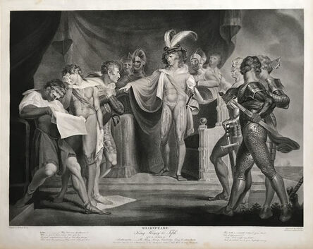 Robert Thew (1758-1802) after Henry Fuseli (1741-1825), 'Shakespeare: King Henry the Fifth, Act II, Scene II from the Boydell Shakespeare Gallery', 1798