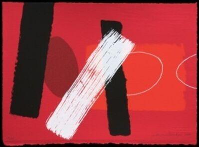Wilhelmina Barns-Graham, 'Red Playing Games I', 2000