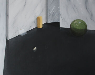 Linda Carrara, 'Natura morta con palla di cristallo', 2016