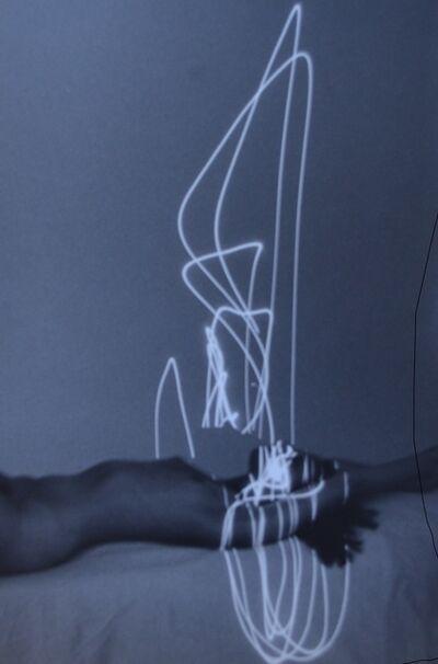 Erich Hartmann, 'Laser Nude'
