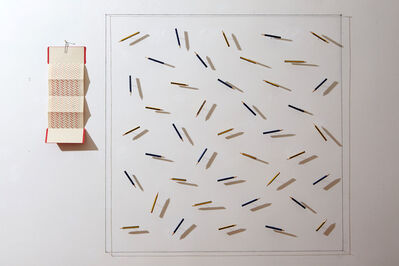 Lorenzo Taini, 'Hanging Repetition Pencils', 2017