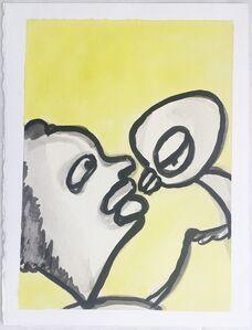 Ansel Krut, 'Kissing', 2004