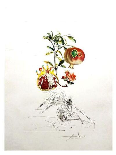 Salvador Dalí, 'Flordali - Grenade et l'Ange', 1969