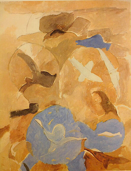 Georges Braque, 'Birds and Sky', 1967