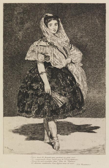 Édouard Manet, 'Lola de Valence', 1863