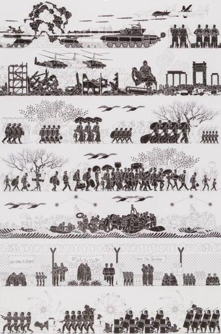 Ai Weiwei, 'Odyssey, poster', 2017