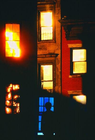 Mitchell Funk, 'Multiple Exposure Self Portrait   Brooklyn Heights ', 1971