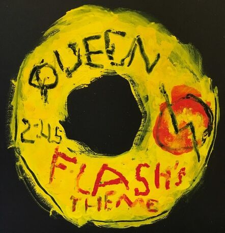 Kerry Smith, 'Off the Record / Queen / Flash's Theme', 2017