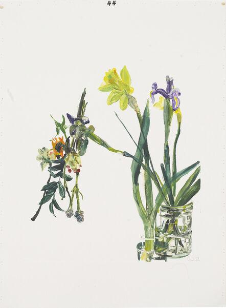 Santi Moix, 'Flowers for Watanabe 44', 2017