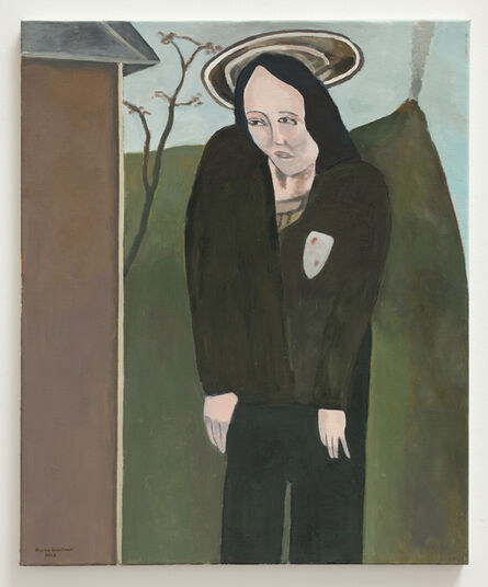 Bruno Knutman, ' Kvinna med gloria / Woman with Halo', 2015