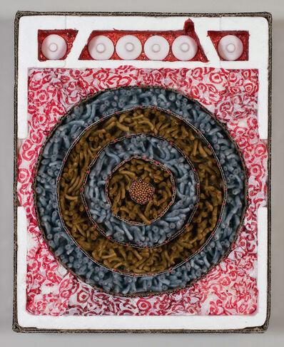Carol Cole (b. 1943), 'Target with Nipples (after Jasper Johns)', 2010