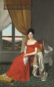 Pietro Nocchi, 'Portrait of a Lady from Lucca (Maria Domenico Paglicci?)', 1823-1825
