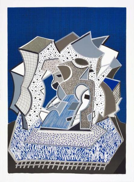 David Hockney, 'Deux (Second Part)', 1991