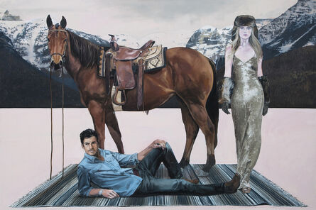 Tracy Stuckey, 'A Man, a Woman and a Horse '