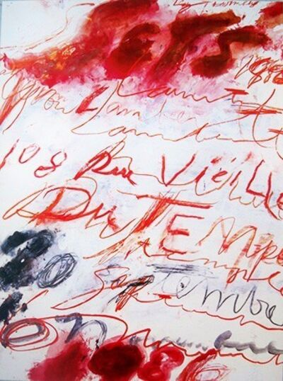 Cy Twombly, '1986', 1986