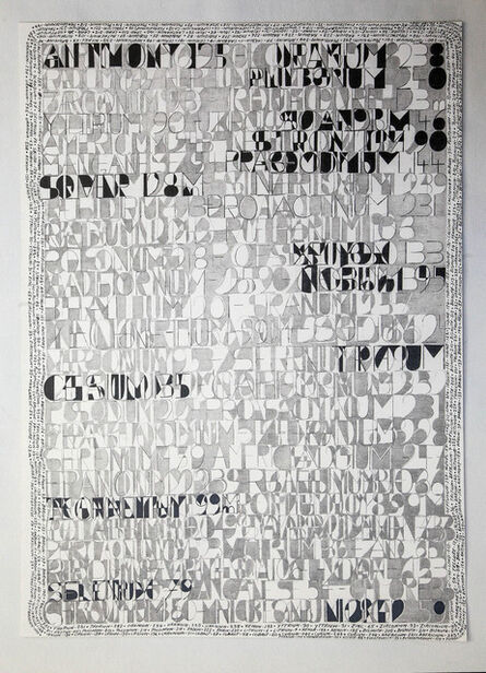 Jean-Luc Vilmouth, 'Sans titre (Science For the Blind)', 2015