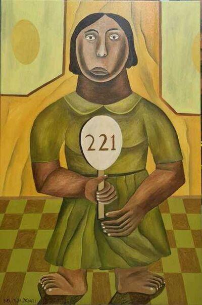 Salah Elmur, 'Innocent Prisoner No.221', 2020-2021