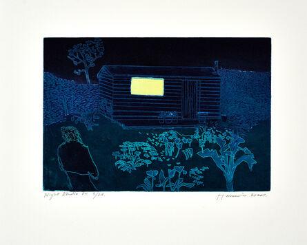 Tom Hammick, 'Night Studio', 2020