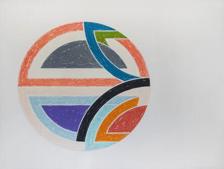 Frank Stella, 'Sinjerli Variation 1a', 1977