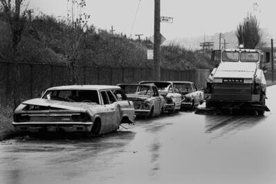 Réjean Meloche, 'Autos Abandonnées', ca. 1975