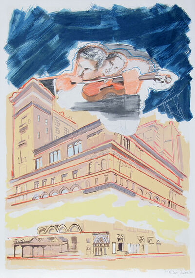 Larry Rivers, 'Carnegie Hall', 1990
