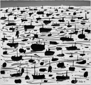 Wu Guanzhong, 'Fishing Harbour ', 2007