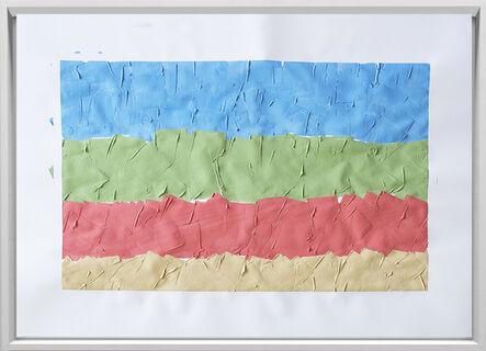 Rodrigo González Castellanos, 'Desgaste de la psicología del color, Amistad', 2020