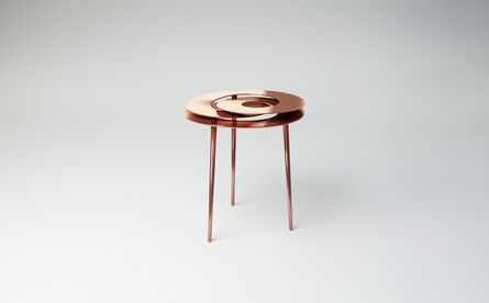 Janne Kyttanen, 'Rollercoaster Small Table (Copper Plated)', 2014