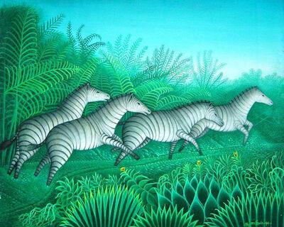 Eric Jn-Louis, 'Zebras', 1994