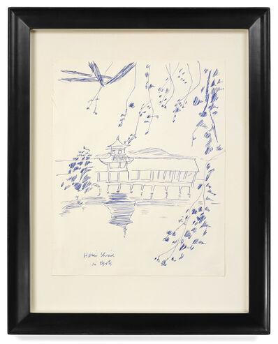 Andy Warhol, 'Heian Shrine Kyoto, Japan', 1956