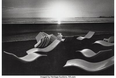 Martine Franck, 'Beach Laid out by the Club Méditarranée, Agador, Morocco', 1976