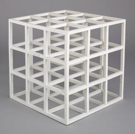 Sol LeWitt, 'Cube (1979) (signed)', 1979