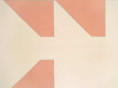 Martin Barré, '91 - 120 x 60 - B', 1991