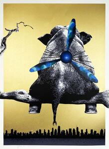 Hama Woods, ''Free' Unique blue camo (1/1)', 2016