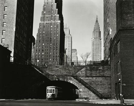 Brett Weston, 'New York Trolley', 1945