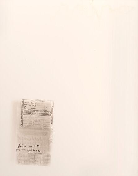 Pierre Poggi, 'Un sogno italiano', 1997