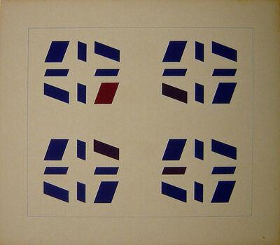 Hélio Oiticica, 'Untitled (Metaesquema) ', 1957