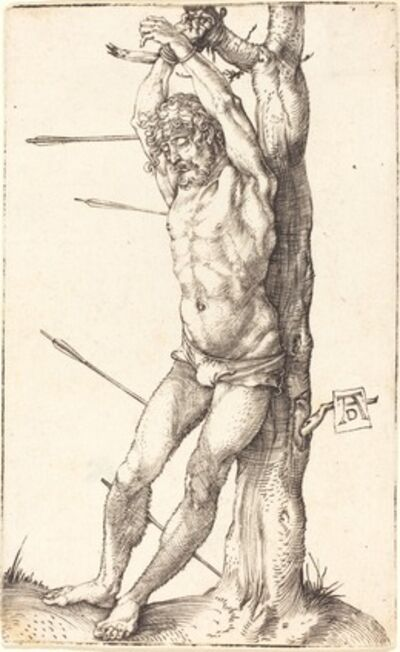 Albrecht Dürer, 'Saint Sebastian Bound to the Tree', 1500/1501