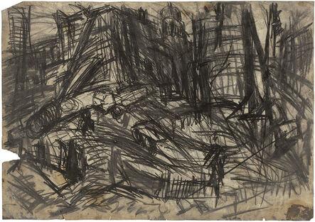 Leon Kossoff, 'Demolition of YMCA building, London, no. 2', 1970