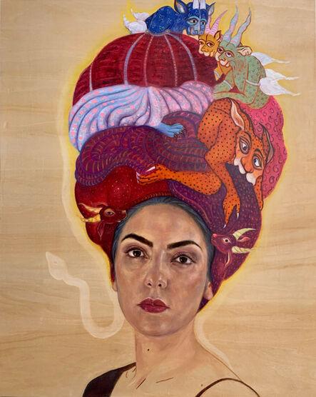 Bahar Sabzevari, 'Crowded Crown', 2020